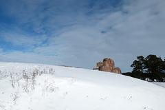 Bomarsunds fästningsruin (evisdotter) Tags: bomarsund fästning fortress winter snow sund åland tree sooc nature