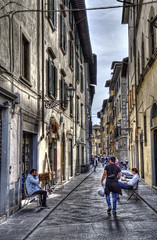 "Streetscene in Florence • <a style=""font-size:0.8em;"" href=""http://www.flickr.com/photos/45090765@N05/26051224127/"" target=""_blank"">View on Flickr</a>"