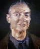 'Roy I' (Roy Lichtenstein) by Chuck Close (Greatest Paka Photography) Tags: chuckclose painting art artist sfmoma museum portrait griddedunits museumofmodernart popart