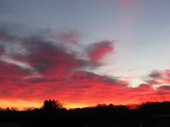 Michigan sunrise (creed_400) Tags: dawn sunrise clouds sky belmont west michigan spring march blue orange