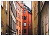 Palette of Stockholm (PhotoKaton) Tags: palette buildings stockholm colors oldtown gamlastan houses town street urban
