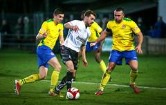 BL9U3148 (Stefan Willoughby) Tags: bamber bridge fc football club v hyde united march 2018 eco stik evostik league division 1 north non sir tom finned stadium lancashire