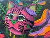 Cat Heads, Cat Heads, Roly-Poly Cat Heads (Roblawol) Tags: arms art artistic cat dollarsign feline graffiti graffitiart green head latinamerica leaves miraflores money mural orange peru pink plants southamerica streetart wall