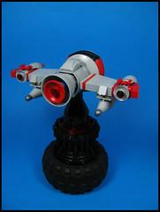 Snub-nosed Fighter (Karf Oohlu) Tags: lego mloc microscale microspacetopia scifi spaceship