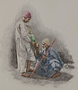 Egyptian water seller (early 1890s) (frankmh) Tags: etching art vintageart waterseller people egypt 1890s hittarp sweden