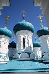 48. Пасхальная вечерня в соборе г. Святогорска 08.04.2018 г