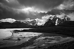Gurudongmar - Study 1 (Ravikumar Jambunathan) Tags: boulders clouds cold himalayas holy india landscape light majestic mountain mountains nature ravikumarjambunathan sikkim sky snow snowfall summit sunlight travel valley winter lachen gurudongmer lake