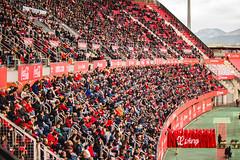 _MG_9951 (sergiopenalvagonzalez) Tags: futbol domingo palma de mallorca pelota jugadores aficion rojo negro pasion