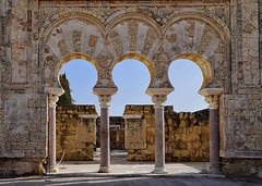 The City of Brilliance (Jocelyn777) Tags: ruins ancient antiquity caliphate historicsites history monuments medinazahara cordoba andalucia spain travel decoration architecturaldetails arch columns