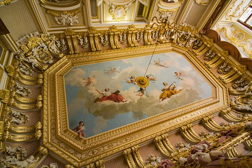 Harlaxton Manor ceiling