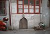 R E D . R I D I N G . H O O D (Panda1339) Tags: streetphotography thegreat50mmproject 50mm shikumenarchitecture shanghai architecture 上海 sh