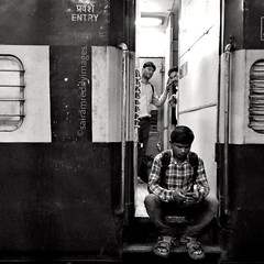 Let's Block That Entry (sairamreddy3) Tags: street railway indianrailways train photography photographer streetphotography moodymoments shotonsmartphone mi xiaomi redmi4 mobilephotography smartphonephotography india pune maharashtra world railwaystation entry