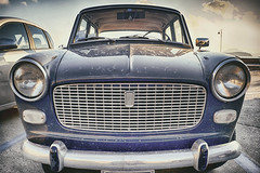 Fiat 1100 D (FedeSK8) Tags: fiat 1100 federicoscotto federicoscottophotography montediprocida italy hdr fujifilmxm1 vintage car old classic 1100d