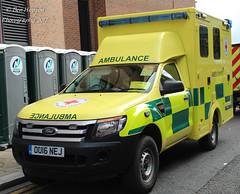 OU16 NEJ (Ben - NorthEast Photographer) Tags: british red cross 2016 ford ranger 4x4 ambulance ou16 ou16nej