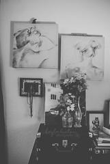 DSC_0026 (xsouthbound) Tags: photography photographer books vinyl records music reading blackandwhitephotography blackandwhite necklaces necklace jewelry recordplayer flower flowers bedroom camera macro macrolens macrophotography nikkorlens nikond3000 nikon nikonphotography
