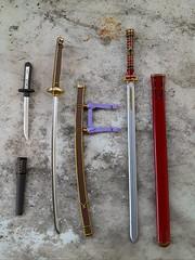 Armas Touken Ranbu / Garo (Lunalila1) Tags: doll groove taeyang isul weapon 16 scale espada cuchillo puñal katana sword knife arma garo touken ranbu kouga saejima higekiri yagen toushirou stock