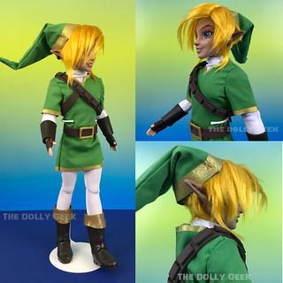 Custom ooak Link Legend of Zelda doll