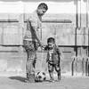 Peruvian Football (Geraint Rowland Photography) Tags: football children childportrait peru peruvianfootball footballinperu limafootball peruintheworldcup perusoccer candidstreetportraitindowntownlima southamerica streetphotography geraintrowlandphotography sigmaartlens wwwgeraintrowlandcouk blackandwhitestreetportrait