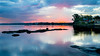 _DSC1087 (waynesaladine) Tags: landscape sunset lake pelican house colour water leading lines toukley