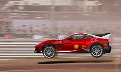 Ferrari Portofino Rally (nike_747Original) Tags: naksphotographydsign ferrari portofino rally racing racecar supercar hypercar super hyper car sporscar sport class exotic rare luxury color auto limited edition fxxk f1 formula1 formula one livery sponsors red white black carbon fiber jump air dirt dust move action drive ground bump fence metal cage wing italy italian tricolore horse hp coupe roadster convertible cabrio