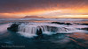 Cascade Rock Sunset Spillover (Panorama Paul) Tags: paulbruinsphotography wwwpaulbruinscoza southafrica westerncape capetown tablemountain blaauwbergbeach sunset mountain beach rock cascade orange nikond800 nikkorlenses nikfilters