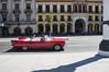 Postales de La Habana (cesarbilan) Tags: cuba auto rojo