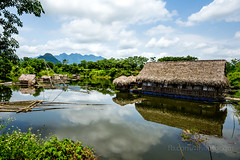 Cage fish farming in Ba Thuoc - Thanh Hoa province of Viet Nam (trai_thang1211) Tags: cage cagefish fishing vietnam thanhhoa