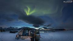 Aurora above Lyngenalps (dieLeuchtturms) Tags: nacht schnee norwegen 16x9 meer europa nordlicht lyngenalpen troms winter lyngenfjord fjord europe lyngenalps norge norway auroraborealis night northernlights sea snow no