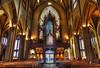 Trinity Church-3 (albyn.davis) Tags: nyc newyorkcity church religious interior light lighting windows door majestic building architecture organ color golden brown colors travel hdr