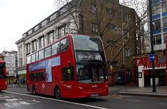 Abellio London 2462 SL14DEU | 109 (Unorm001) Tags: red london double deck decks decker deckers buses bus routes route diesel hybrid electric dieselelectric battery batteryelectric hybridelectric 2462 sl14 deu 109
