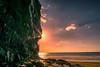 DruidstoneFireAndIce (sionesmond) Tags: pembrokeshire beach sun sunrays ice icicles