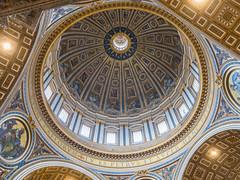 Kuppel Petersdom (stefanheymann) Tags: rom roma rome petersdom vaticano vatikan sanpietro kuppel dome cupola stpeter d850 2470vr