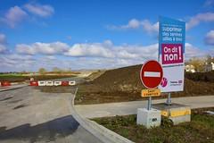 On dit NON ! (Conseil Départemental des Yvelines) Tags: onditnon supprimerdesservicesutilesàtous interdiction chantierrd307