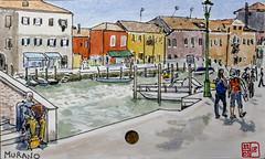 Murano (chando*) Tags: aquarelle croquis sketch watercolor