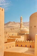 Nizwa Fort 2 (briangb.me) Tags: omam uae desert muscat mutrah souq shangrila alhusn aljissah nizwa