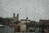 Feel the Rain ... (vanessa violet) Tags: city view cityscape church rain weather spring window water raindrops feeltherain