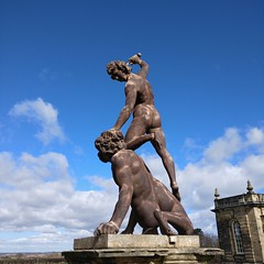David and Goliath (42jph) Tags: oneplus3t oneplus 3t statue sculpture uk england seaton delaval hall history davidandgoliath northumberland