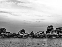 Shore (markb120) Tags: thailandandaman similan island islands thailand sea ocean isle insula jackal rock crag scaur scar stone calculus scale concretion gum coast shore littoral water sky heaven palate blue roofofthemouth sphere cloud eddy sunset set decline sundown fall afterglow setting