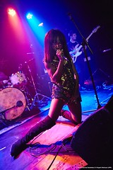 Saint Agnes and friends at the Lexington (Rupert Hitchcox LRPS) Tags: noisenoir thewidows winnieandtherockettes sisterwitch psyence saintagnes thelexington wecandoitpromotions ruperthitchcox london unitedkingdom uk