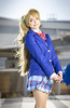 _MG_7041 (Mauro Petrolati) Tags: francesca school cosplay cosplayer romcs 2018 love live kotori minami romics uniform