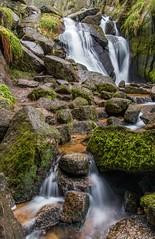 Moss at The Vat (robinta) Tags: ballater burnovat waterfall landscape water falls rapids rocks stream river scotland ngc canon 1855isstm longexposure colour blur movement nature 200d