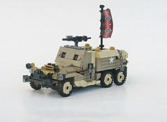 Rough Terrain Armoured Personnel Carrier K-05 (W. Navarre) Tags: lego da3 build vehicle war men battle