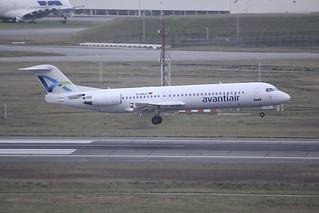 D-AOLG Fokker 100 TLS 25Jan2018