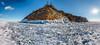 Bristling ice hummocks panorama (Evgeny Gorodetskiy) Tags: panorama landscape russia travel nature siberia island hummocks winter lake baikal olkhon ice irkutskayaoblast ru