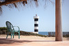 a terrace overlooking the mediterranean sea (Sitoo) Tags: balearicislands estalella mallorca mediterraneo beach far island lighthouse terrace views landscape travel explore sestanyol