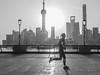 LR Shanghai 2016-495 (hunbille) Tags: birgitteshanghai6lr china shanghai morning bund the thebund running sunrise dawn fence huangpu river promenade zhongshan road zhongshanroad skyline tower shanghaitower shanghaiworldfinancialcenter world financial center jinmaotower jin mao orientalpearltower oriental pearl street lamp