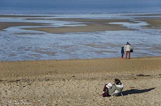 Marée basse sur la côte Normande 04