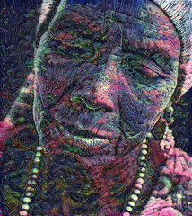 Madonna from Black Africa (cirooduber) Tags: ostagram awardtree trollieexcellence digitalarttaiwan visualart artdigital africa woman portrait