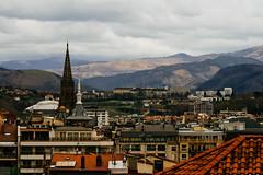 San-Sebastian-Donostia, Spain (no.sad.tomorrow) Tags: sansebastian panoramicview donostia paisvasco basque españa spain mountains montes montañas view town oldtown church
