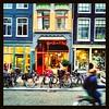 The Darling (nyah74) Tags: amsterdam haarlemmerdijk bike fiets architecture facade façade artnouveau streetphotography retail shop shopwindow